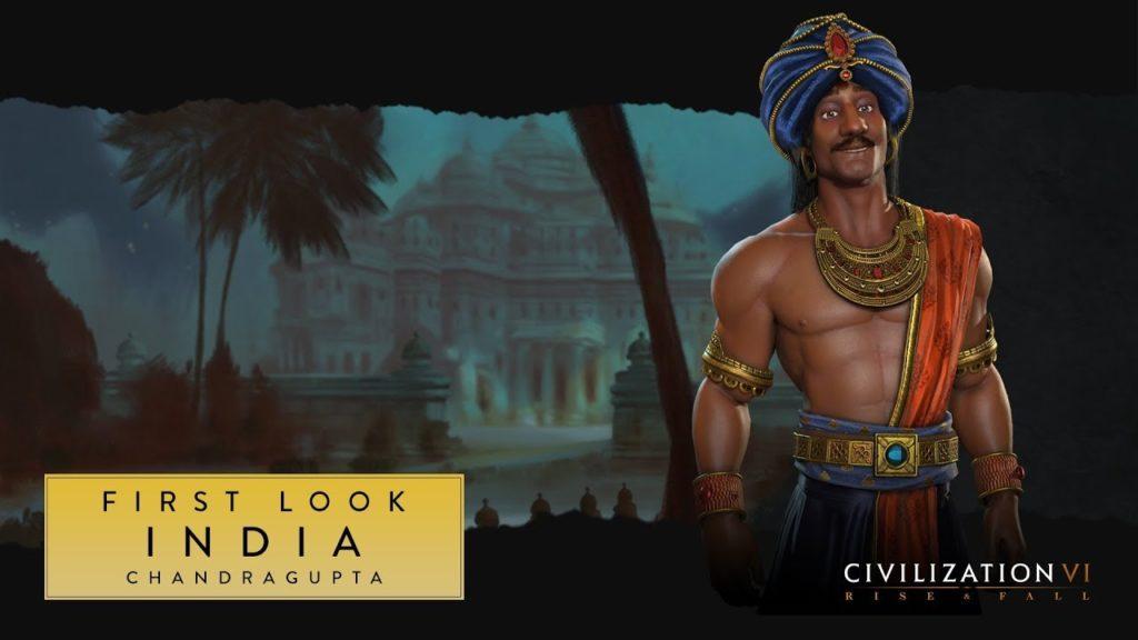 Chandragupta, Anführer von Indien in Civilization 6