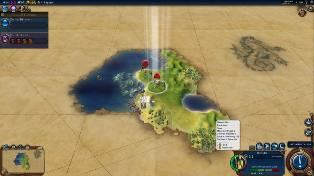 Great Barrier Reef, ein Naturwunder in Civilization 6